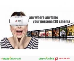 Nhà cung cấp kính thực tế ảo VR box chính hãng xem phim, chơi game 3D