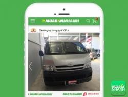 Giá xe Toyota Hiace động cơ Gas (máy xăng)