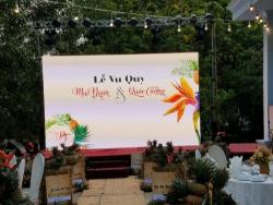 Cho thuê màn hình Led nhà hàng tiệc cưới giá rẻ HCM