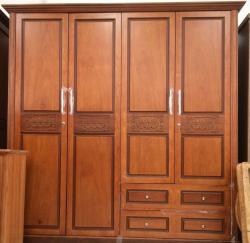Báo giá tủ quần áo gỗ tự nhiên tại TPHCM